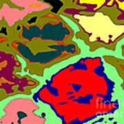 Splatter  Art Print by Joseph Baril