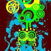Splattered Series 1 Art Print