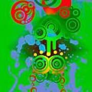 Splattered Series 11 Art Print