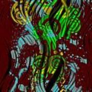 Splattered Series 2 Art Print