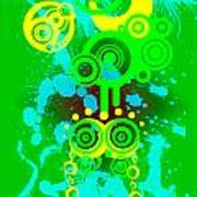 Splattered Series 3 Art Print