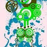 Splattered Series 4 Art Print