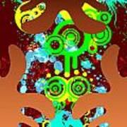 Splattered Series 9 Art Print