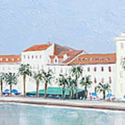 Split Croatia Adriatic Coast Art Print