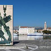 Split Harbour Art Print