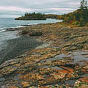 Splitrock Shoreline Art Print