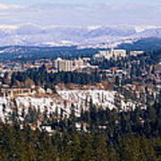 Spokane View 2-4-14 Art Print