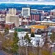 Spokane Washington Art Print