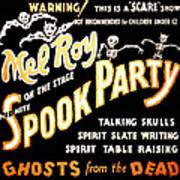 Spook Party 2 Art Print
