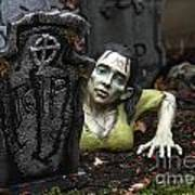 Spookie Lady Art Print