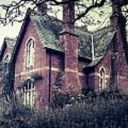 Spooky House Art Print