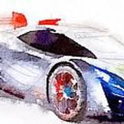 Sport Car 3 Art Print
