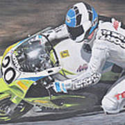 Sport Rider Art Print