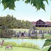 Sporting Clays At Seven Springs Mountain Resort Art Print