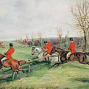 Sporting Scene, 19th Century Art Print