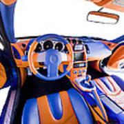 Sports Car Interior Art Print