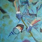 Sports Hockey-2 Art Print
