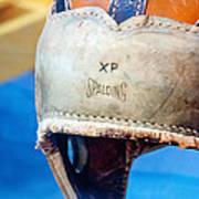 Sports - Vintage Football Helmet Art Print