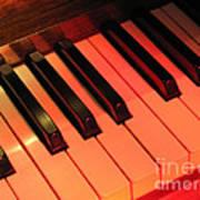 Spotlight On Piano Art Print