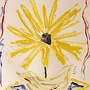 Spotlight On Yellow Print by Mary Carol Williams