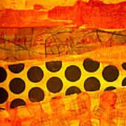 Spotted Sunset Art Print