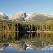 Sprague Lake In Rocky Mountain National Park Art Print