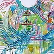 Spread Of Energies Art Print