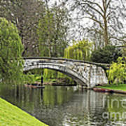 Spring And The River Cam Art Print