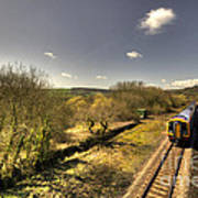 Spring At Seaton Junction  Art Print