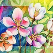 Spring Ballerinas Art Print