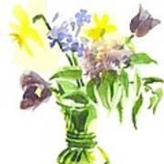 Spring Bouquet IIi Art Print
