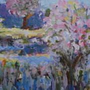 Spring Crabapples Art Print