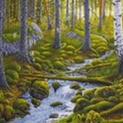 Spring Creek Art Print