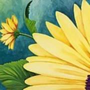 Spring Daisy Art Print