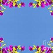 Spring Flower Frame Art Print