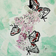 Spring Flutter Art Print