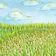 Spring Hill Art Print