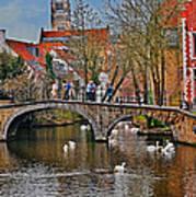 Spring In Bruges Art Print
