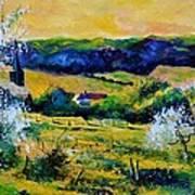Spring In Matagne  Art Print