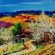 spring in Sechery Art Print