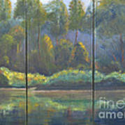 Spring On The Coosa  Art Print