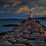 Spring Point Ledge Lighthouse Art Print