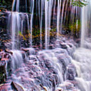 Spring Runoff At The Falls Art Print
