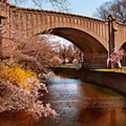 Spring - Springtime In Newark Art Print