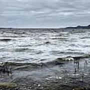 Spring Storm On Lake Champlain Art Print