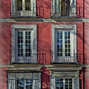 Spring Sunshine In Madrid Art Print