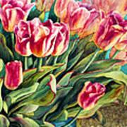 Spring Winds Art Print