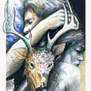 Springs Eternal Love Affair With The Ice Prince Art Print
