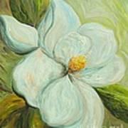 Spring's First Magnolia 2 Art Print