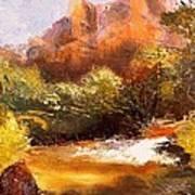 Springs In The Desert Art Print